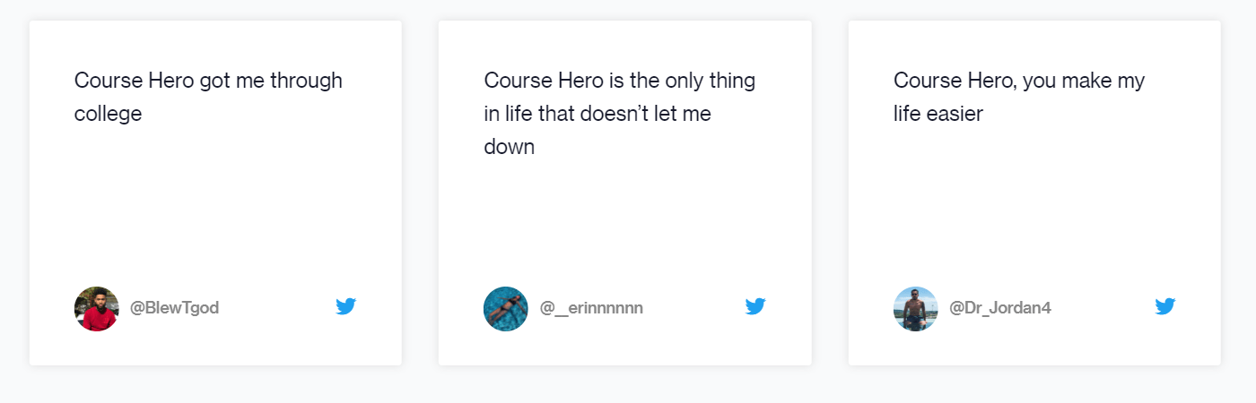 Course Hero Review